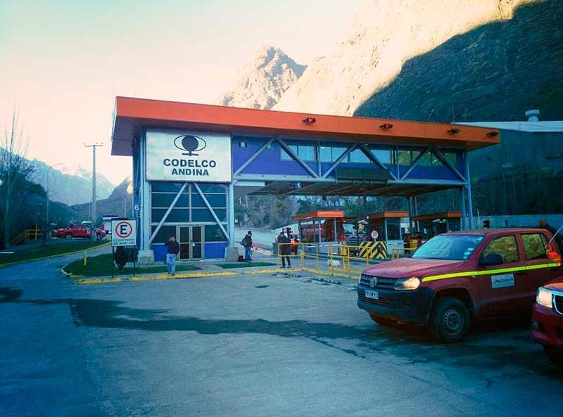 Instruyen Sumario Sanitario Contra Codelco Andina Tras