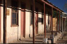 Edificio en la estación de ferrocarriles de Inca de Oro, Region de Atacama - Chile